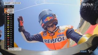 GP d'Aragon, Moto GP: Marquez (ESP) gagne la course devant Pedrosa (ESP) 2e et Lorenzo (ESP) 3e [RTS]