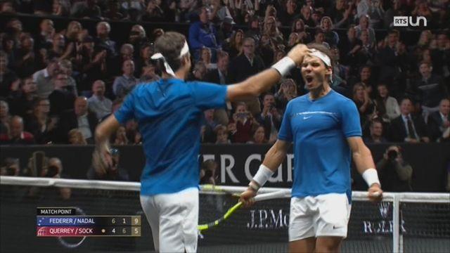 Tennis: la Laver Cup à Prague remporte un franc succès [RTS]