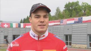 Mag: Yann Moulinier a choisi de se lancer à fond dans le bobsleigh [RTS]