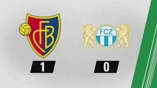 9e journée, Bâle - Zurich, 1-0: tous les buts de la rencontre [RTS]