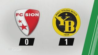 9e journée, Sion - Young Boys, 0-1: tous les buts de la rencontre [RTS]