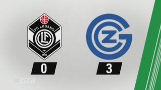 9e journée, Lugano - Grasshopper, 0-3: tous les buts de la rencontre [RTS]