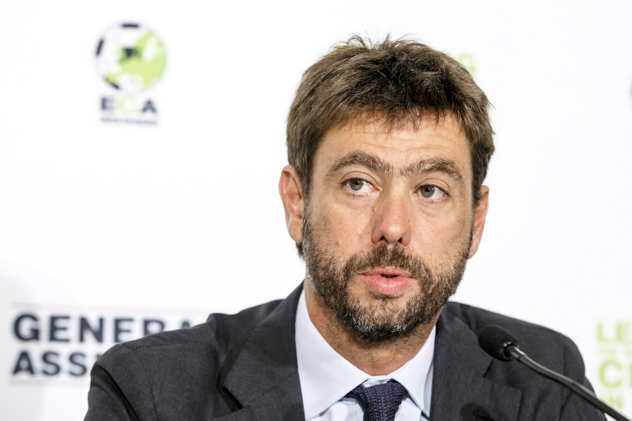Le président Andrea Agnelli suspendu un an — Juventus