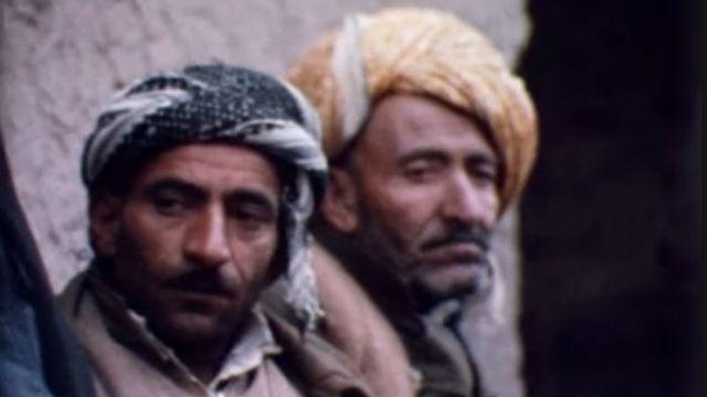 Kurdes irakiens en 1972. [RTS]