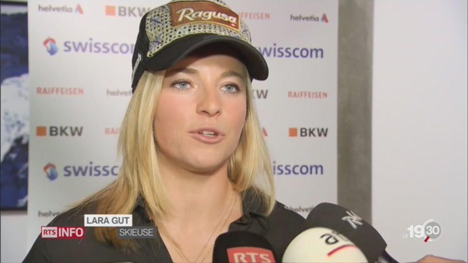 Ski alpin: Lara Gut est de retour, en quête d'équilibre [RTS]
