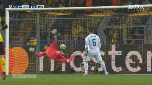 Ligue des Champions, Gr. H, Dortmund - Real Madrid (1-2): Aubameyang 54e [RTS]