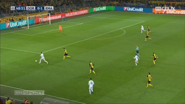 Ligue des Champions, Gr. H, Dortmund - Real Madrid (0-2): Ronaldo [RTS]