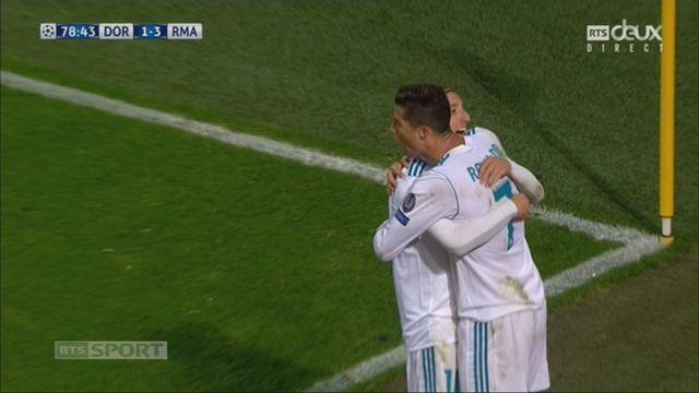 Ligue des Champions, Gr. H, Dortmund - Real Madrid (1-3): Ronaldo 79e [RTS]