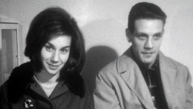 Un couple suisse en 1965. [RTS]