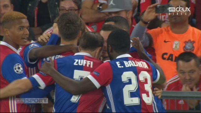 Ligue des Champions, Gr. A, Bâle - Benfica (1-0): Lang ouvre le score [RTS]