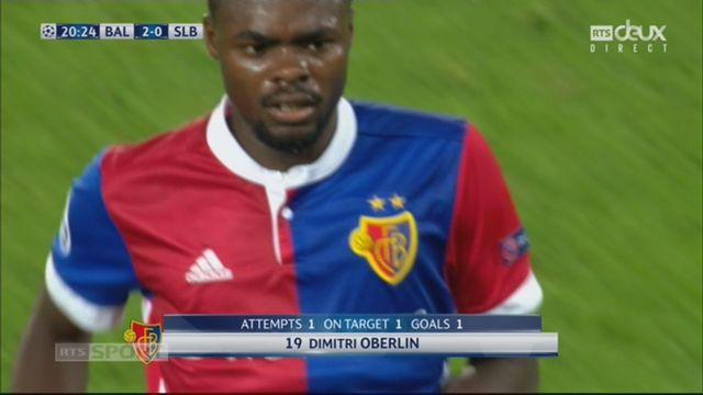 Ligue des Champions, Gr. A, Bâle - Benfica (2-0): Oberlin traverse tout le terrain et met le ballon dans les filets ! [RTS]