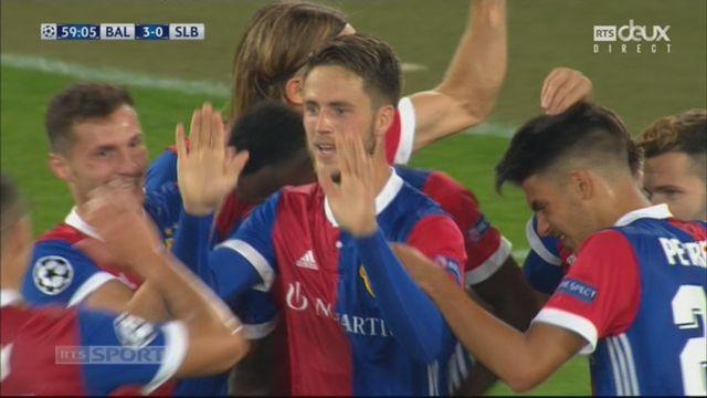 Ligue des Champions, Gr. A, Bâle - Benfica (3-0): Van Wolfswinkel transforme un penalty [RTS]