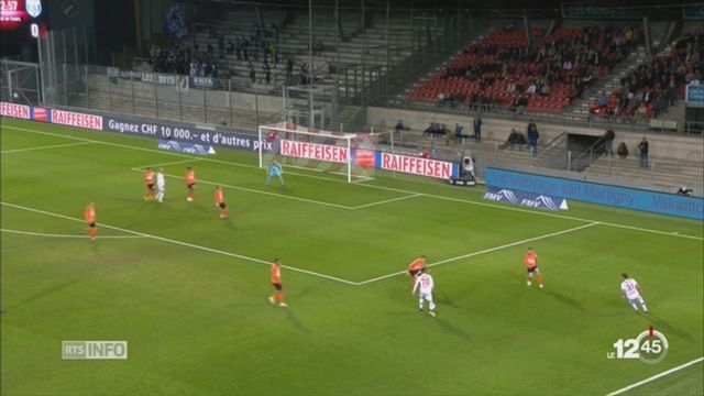 Football-Super League: Sion laisse échapper la victoire face au Lausanne-Sport [RTS]