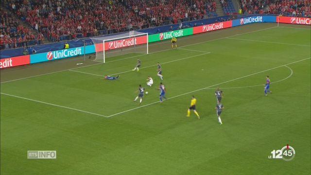 Football-Ligue des Champions: victoire de Bâle face au Benfica Lisbonne [RTS]