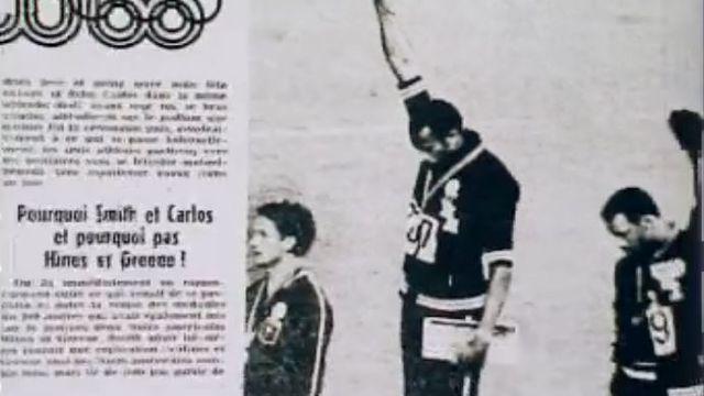 Le poing levé des athlètes noirs américains en 1968.