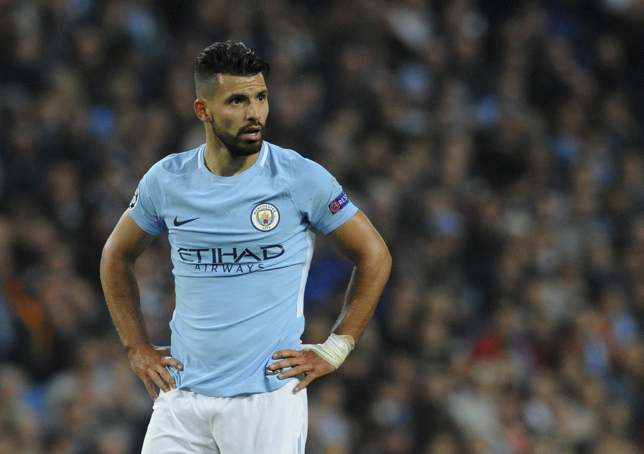 Agüero victime d'un accident de voiture