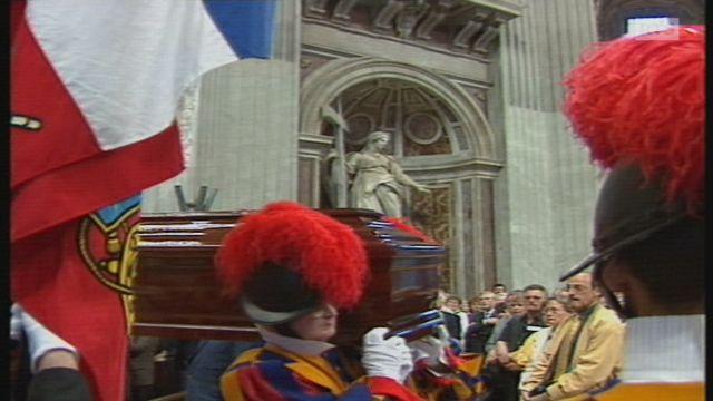 Funérailles de Cédric Tornay [RTS]