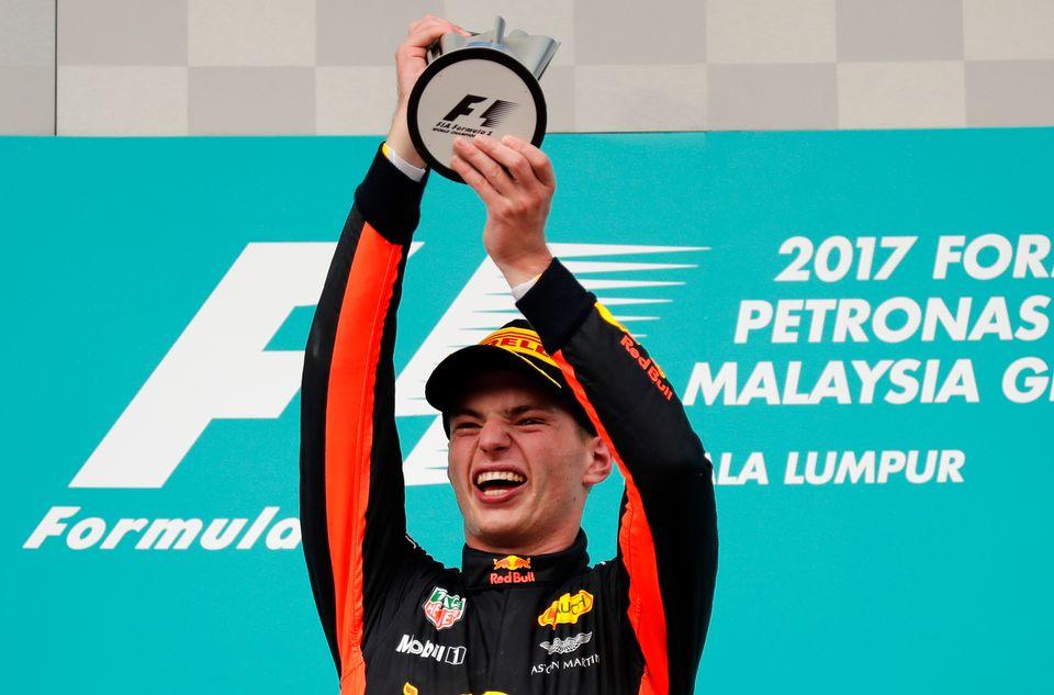 Max Verstappen a remporté le 2e succès de sa jeune carrière. [Vincent Thian - Keystone]