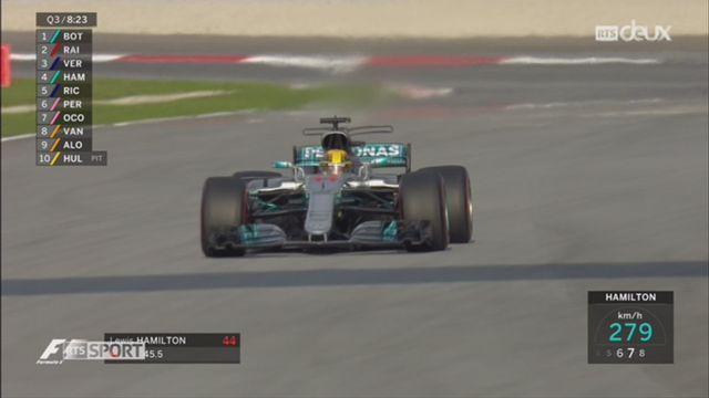 F1 - GP de Malaisie: Hamilton est le roi des qualifications [RTS]