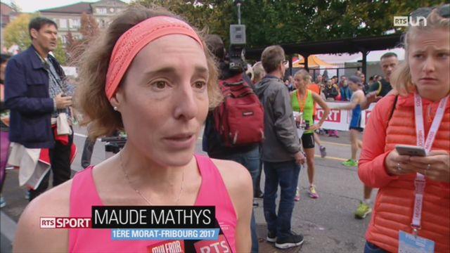 84e Morat-Fribourg: Maude Mathys remporte l'épreuve au terme d'un finish époustouflant [RTS]