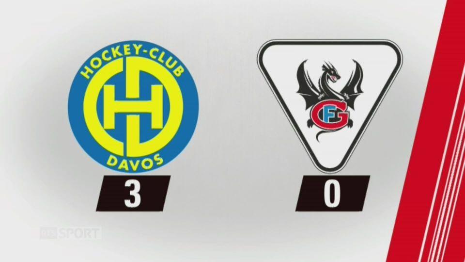 9e journée, Davos - Fribourg, 3-0: tous les buts de la rencontre [RTS]