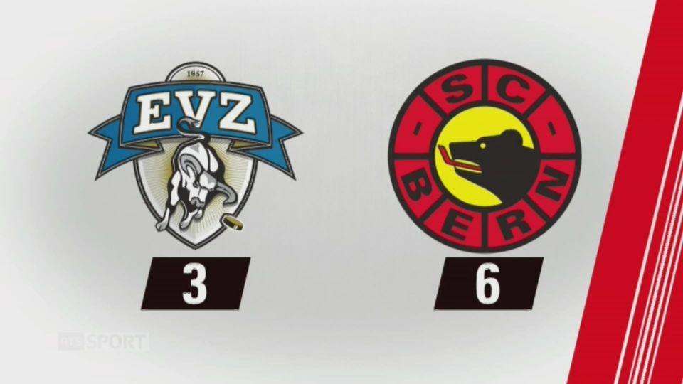 9e journée, Zoug - Berne, 3-6: tous les buts de la rencontre [RTS]