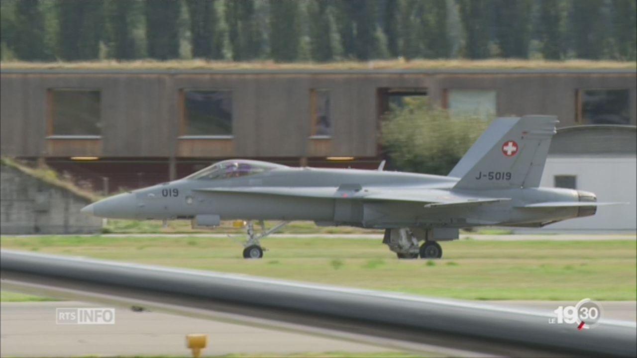 Achat d'un nouvel avion militaire: les lobbyistes déjà au combat [RTS]