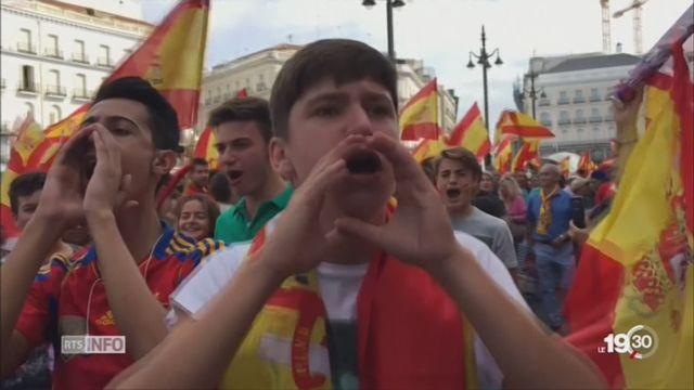 Catalogne: la journée du référendum marquée par les violences [RTS]