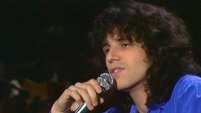 Julien Clerc a trente ans en 1977. [RTS]