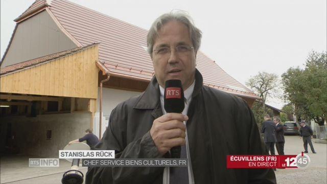 FR-Energie solaire et patrimoine: entretien avec Stanislas Rück, chef du Service des biens culturels [RTS]
