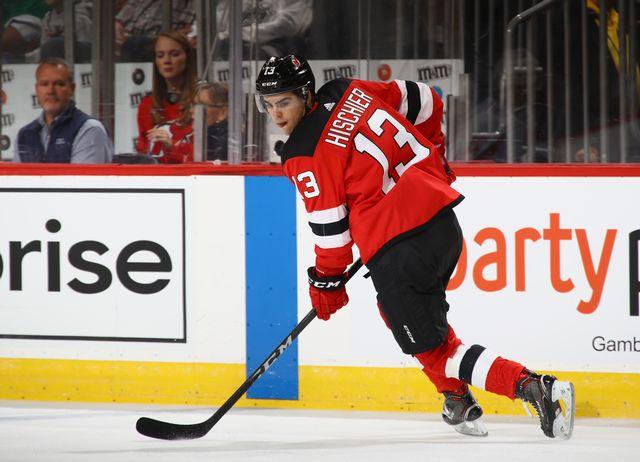 No 1 de la draft, Nico Hischier s'apprête à vivre sa première saison en NHL. [Bruce Bennett - AFP]