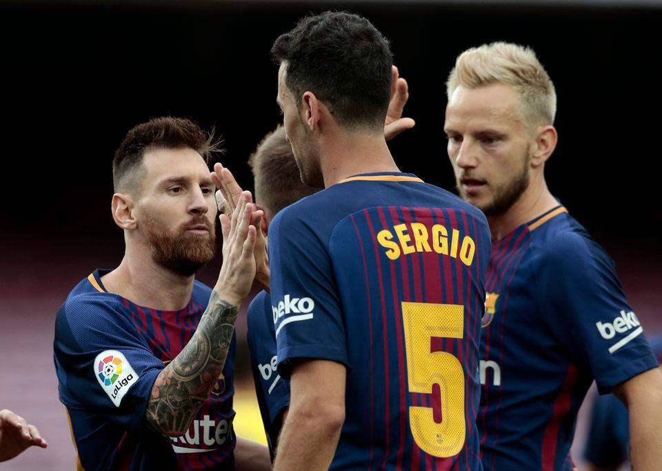 Aucune équipe du FC Barcelone ne s'entraînera mardi. [Manu Fernandez - Keystone]