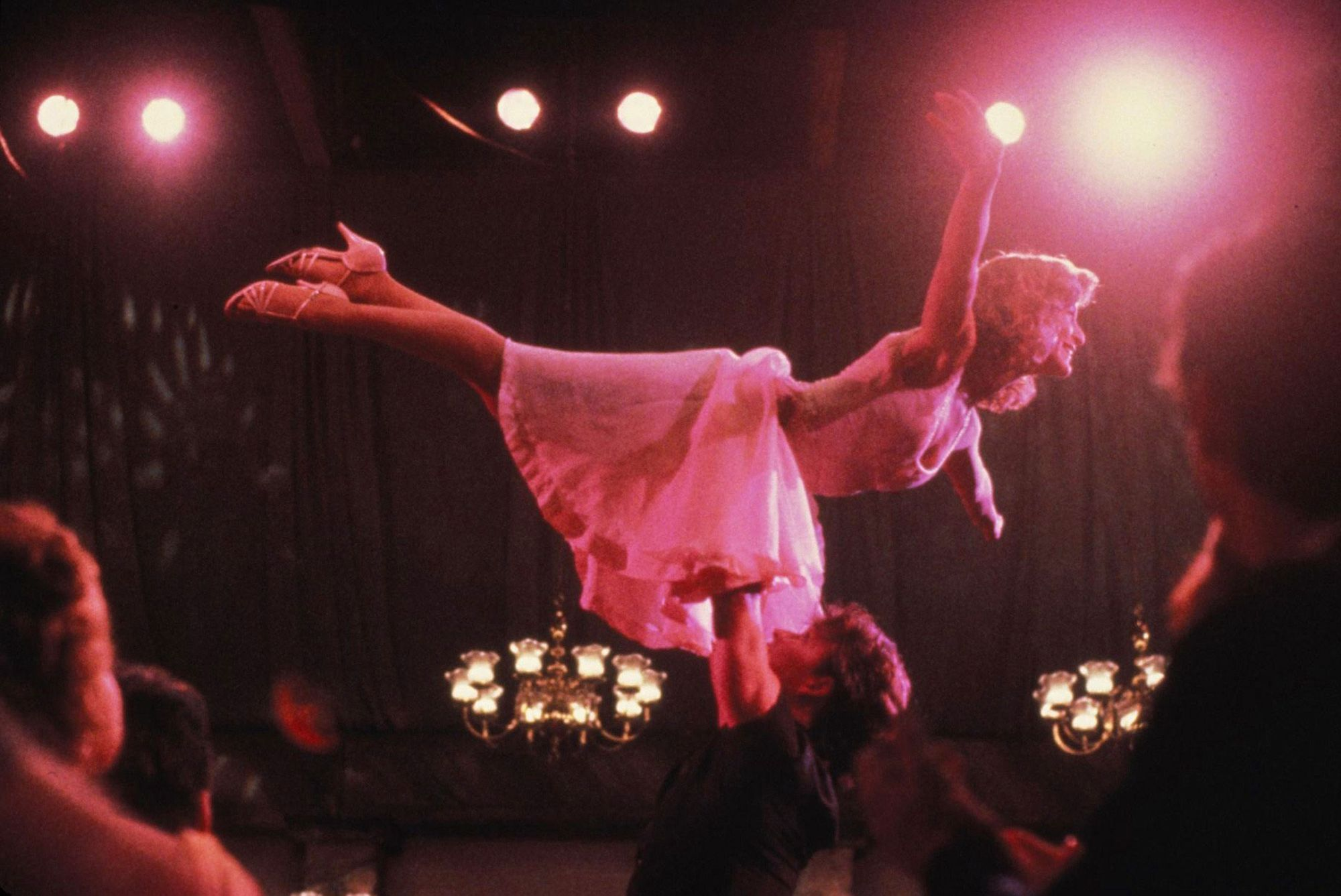 "Jennifer Grey dans film ""Dirty Dancing"" de 1987 d'Emile Ardolino."