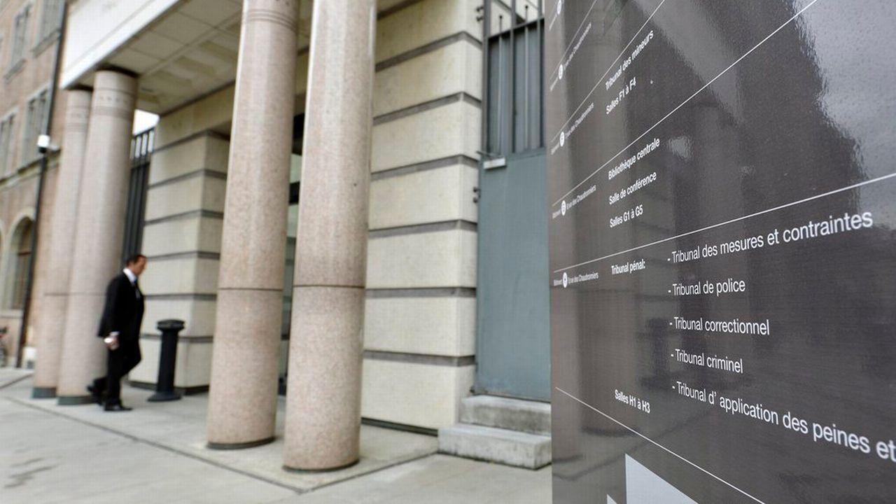 Le Palais de Justice à Genève. [Martial Trezzini - Keystone]