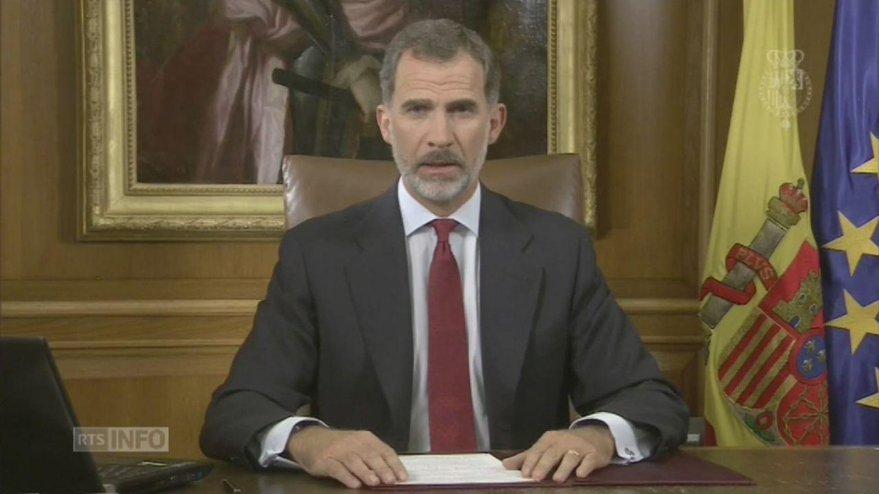 Discours Roi Espagne [RTS]
