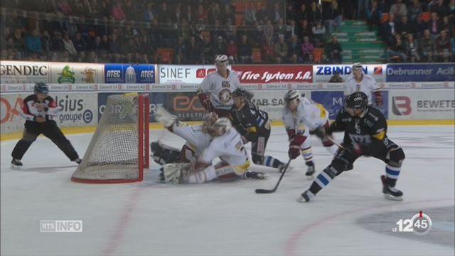 Hockey- LNA: Fribourg-Gottéron mate Genève-Servette (5-2) [RTS]