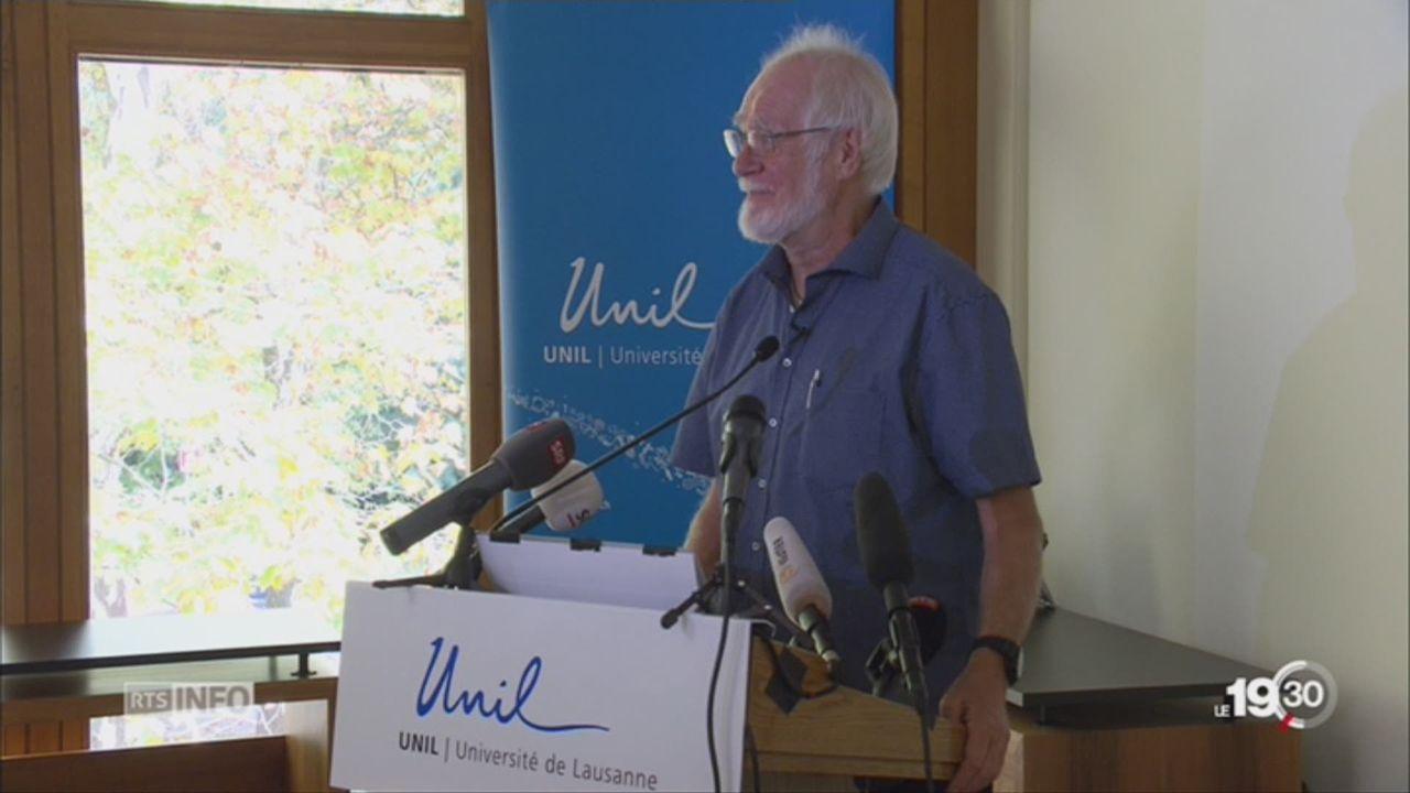 Le Vaudois Jacques Dubochet a obtenu le prix Nobel de chimie [RTS]