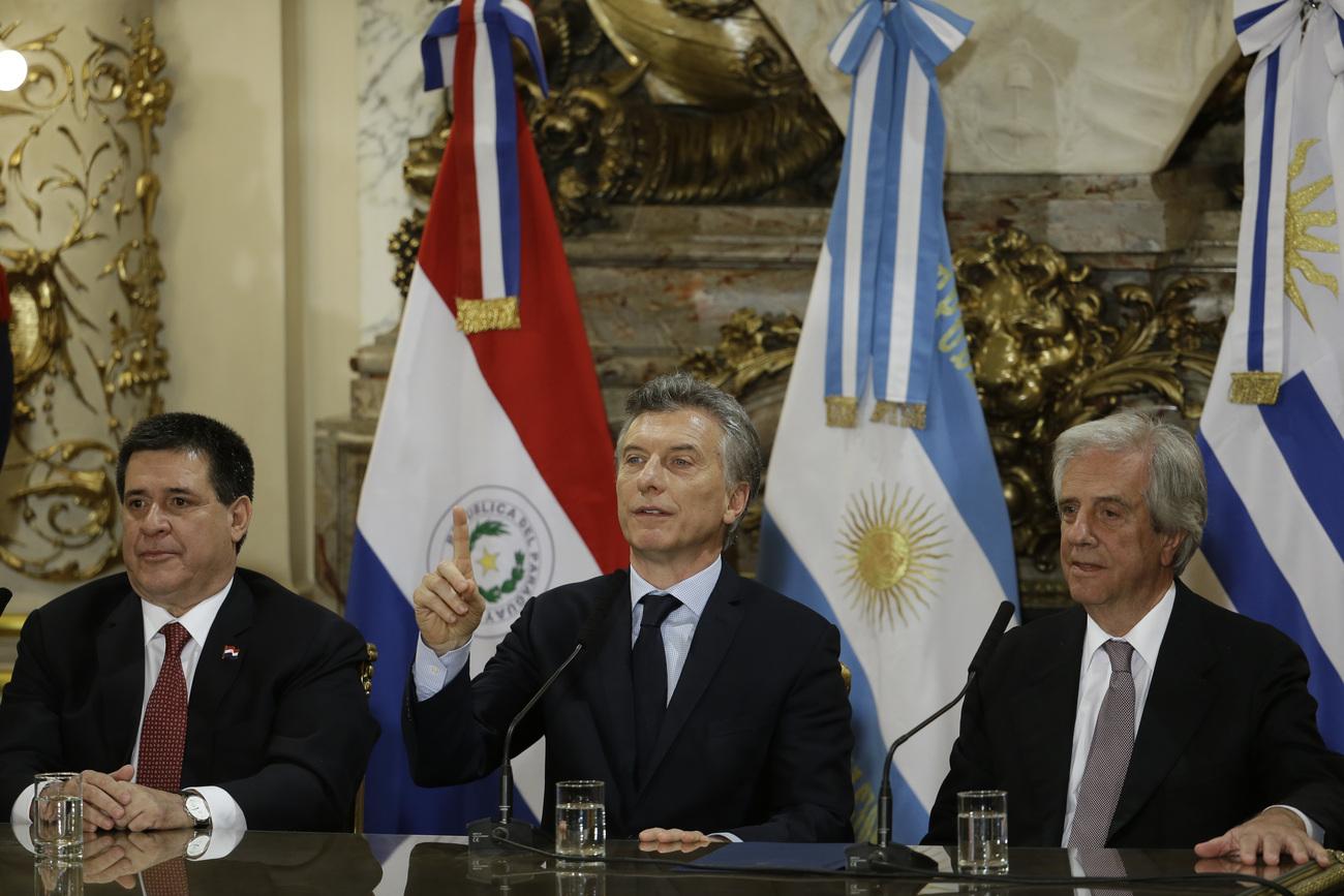 Mondial 2030 : L'Argentine, le Paraguay et l'Uruguay présentent une candidature commune