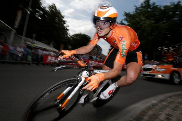 L'Espagnol avait rejoint BMC en 2013, après 13 ans passés chez Euskaltel. [Christophe Ena - Keystone]
