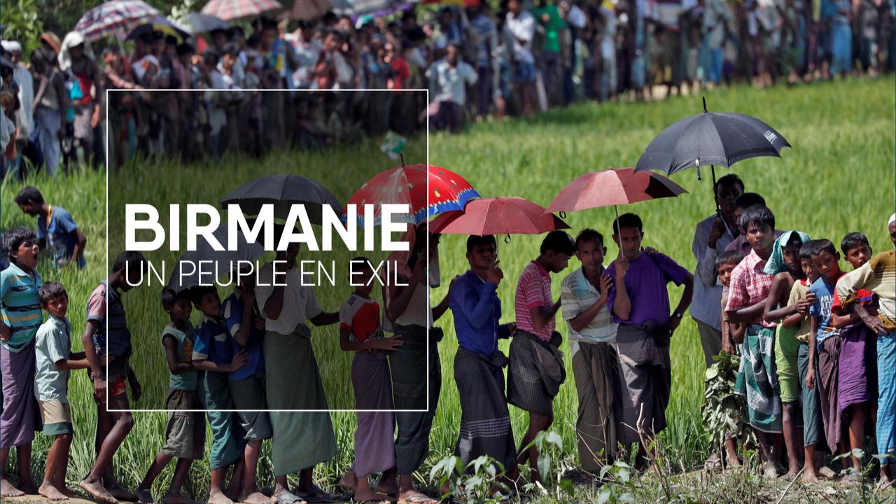 Des exilés Rohingyas au Bangladesh, le 1er octobre 2017. [Cathal McNaughton - Reuters]