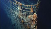 L'épave du Titanic [Courtesy of NOAA/Institute for Exploration/University of Rhode Island (NOAA/IFE/URI).]