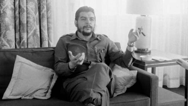 Che Guevara à Genève en 1964. [RTS]