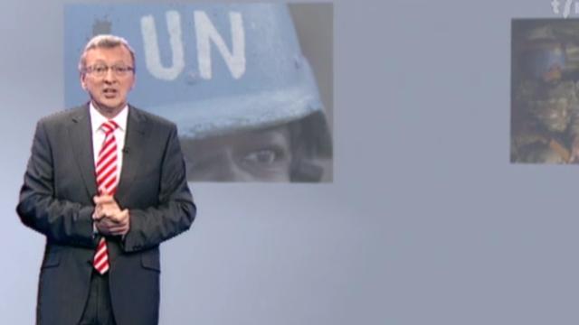 ONU et casques bleus: à quand les réformes? [Capture d'écran - © RTS - Géopolitis]