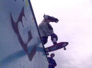 Compétition de skateboard à Versoix en 1989. [RTS]