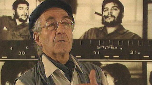 René Burri, photographe du Che, en 1997. [RTS]