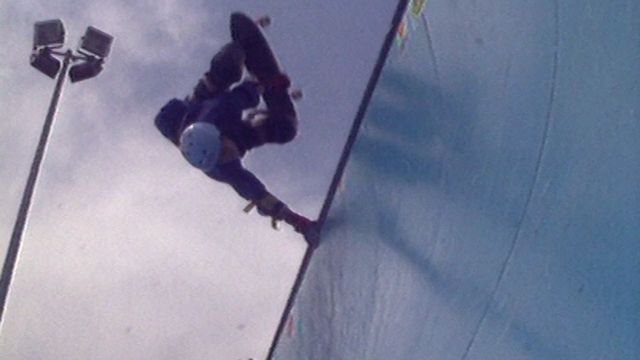 Skateboard : Compétition de skateboard à Versoix en 1989. [RTS]