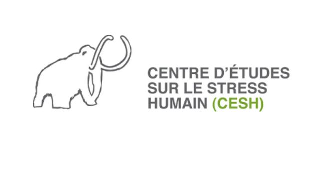 Le logo du Centre d'études sur le stress humain (CESH) + quiz CESH [© CESH]