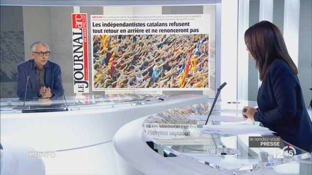 Le rendez-vous de la presse: la crise qui secoue l'Espagne [RTS]