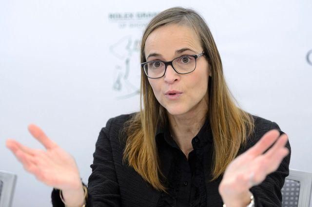 Sophie Mottu Morel, directrice générale du CHI, en 2015. Martial Trezzini Keystone [Martial Trezzini - Keystone]