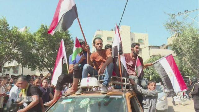 Le gouvernement palestinien se réunit à Gaza [RTS]